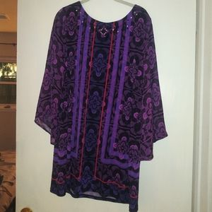 Style & Co. Tunic Blouse Top - Size XL
